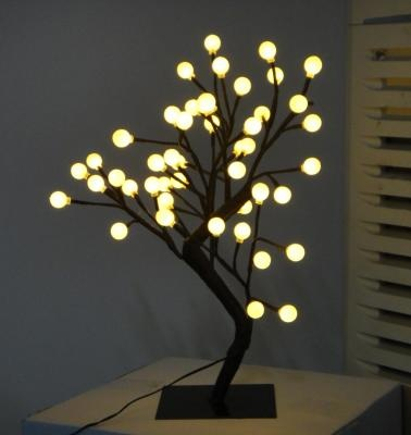 White LED Ball Tree creative motion ind