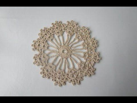 Uncinetto Crochet Sottobicchieri centrino tutorial
