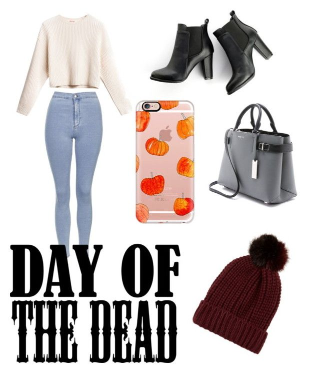 """""""Happy Halloween """" by yazzylovexoxo on Polyvore featuring Topshop, MANGO, Michael Kors, Casetify and River Island"""