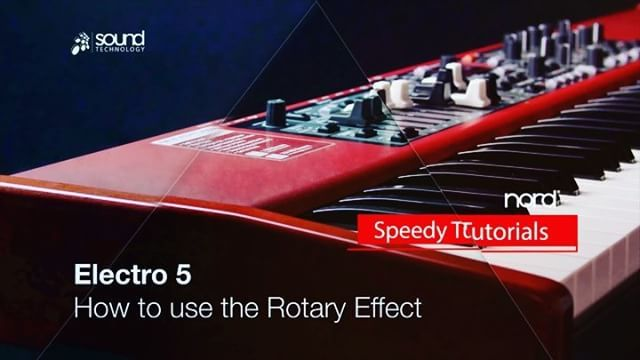 #NordSpeedyTutorial - welcome to week 11 of our @nordkeyboards video series - this week we have | How to use the Rotary simulation on an Electro 5 | link in bio.... . . . #nord #nordkeyboards #tutorial #howto #speedytutorial #musician #music #keys #keyboard #piano #electro5 #synth #electro #learn