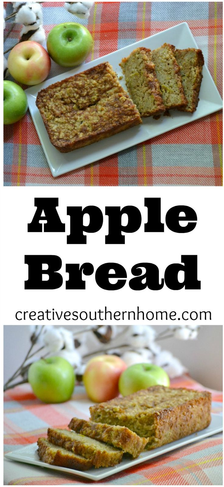 ... apples and spices this apple bread is perfect to enjoy on a cool crisp