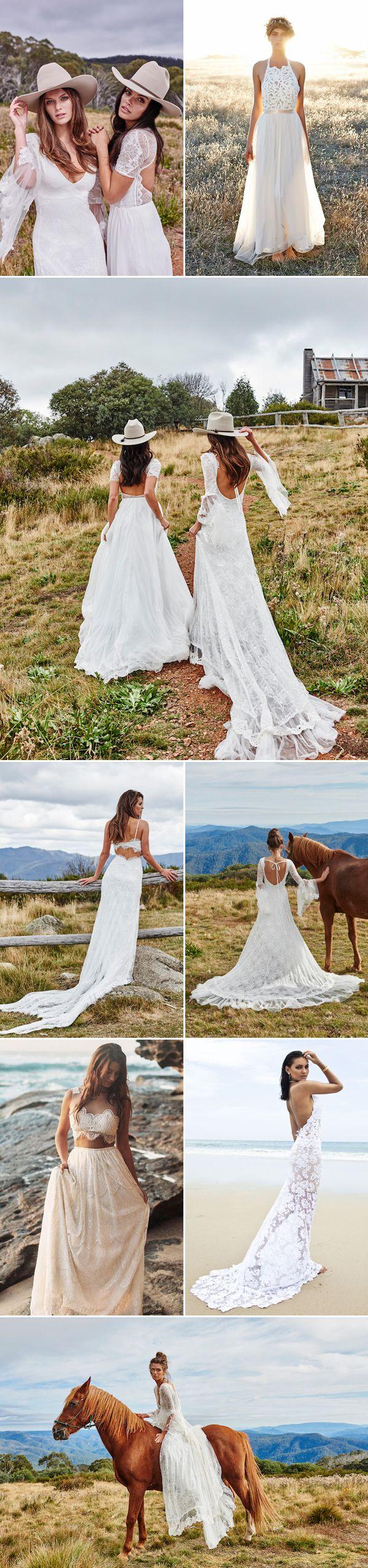 45 Effortlessly Beautiful Bohemian Wedding Dress!