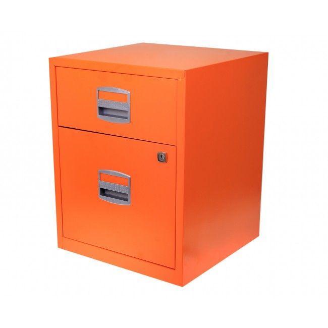 Bisley A4 2 Drawer Filing Cabinet on Wheels | bedroom ...