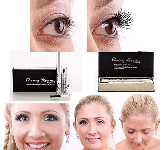 Cherry Blooms Mascara Brush On Fiber Eyelash Extensions