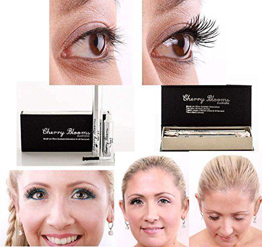 Cherry Blooms Mascara Brush On Fiber Eyelash Extensions