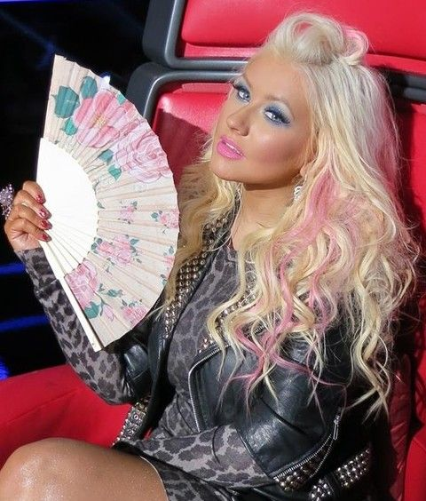 Top 40 Most Beautiful Hair Looks by Christina Aguilera