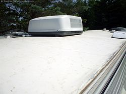 How to clean and repair your RV's rubber roof
