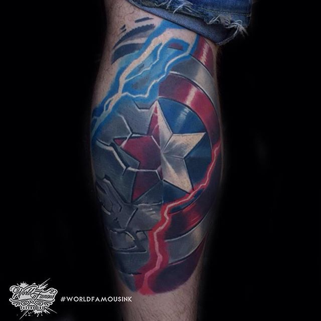 25 best ideas about captain america tattoo on pinterest captain america art captain america. Black Bedroom Furniture Sets. Home Design Ideas