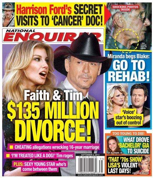 Are Tim McGraw And Faith Hill Getting A Divorce? Twitter Discusses Rumor About Their Marriage
