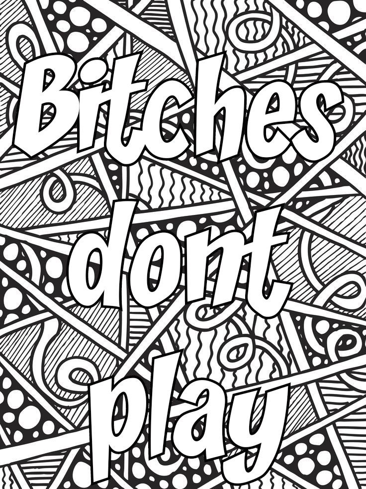 graphic regarding Swear Word Coloring Pages Printable Free known as Pin by way of Valarie Ante upon Coloration me sweary coloring internet pages
