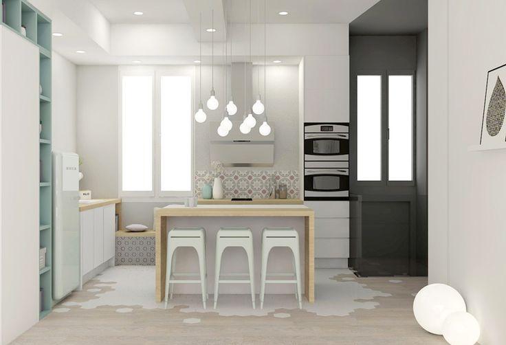 Multi-fonctions, rénovation appartement Marion LANOË