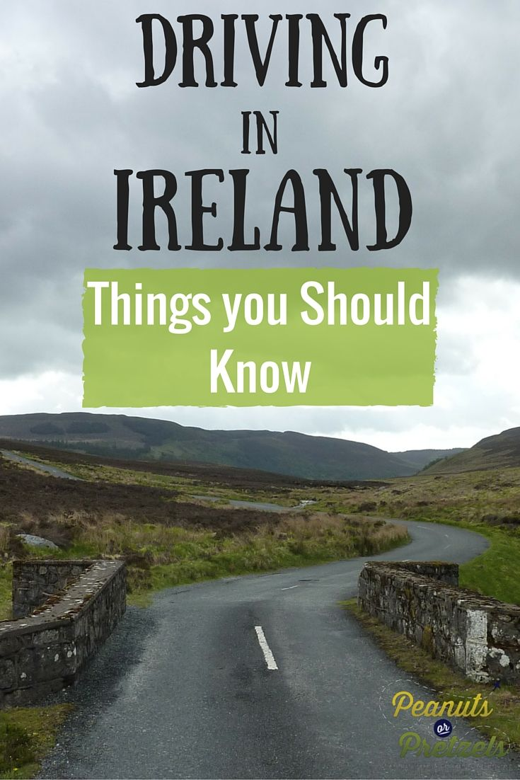 I'll tell you what you need to know! 1. Rent an automatic! 2. Buy the insurance! 3. Rent a car with a boot! (trunk) 4. Take a map. GPS is iffy. Although, I must admit, it's a lot of fun getting lost!  Driving in Ireland - Things You Should Know