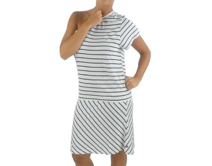 O´Neill Kleid Dress Sommerkleid Iskur weiß schwarz ...