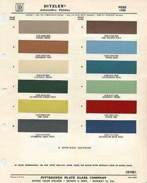 Paint Color Site Vintage Camper Pinterest