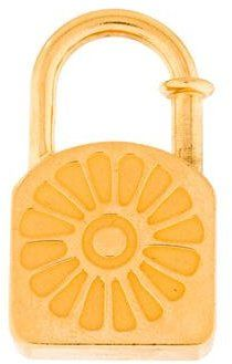 Hermès Lotus Cadena Lock Charm
