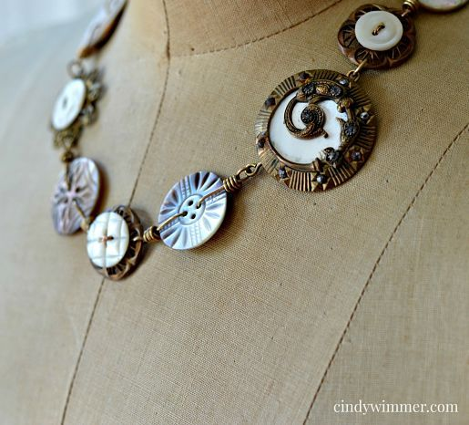 366 best Button Jewelry Other SewingThemed Jewelry images on