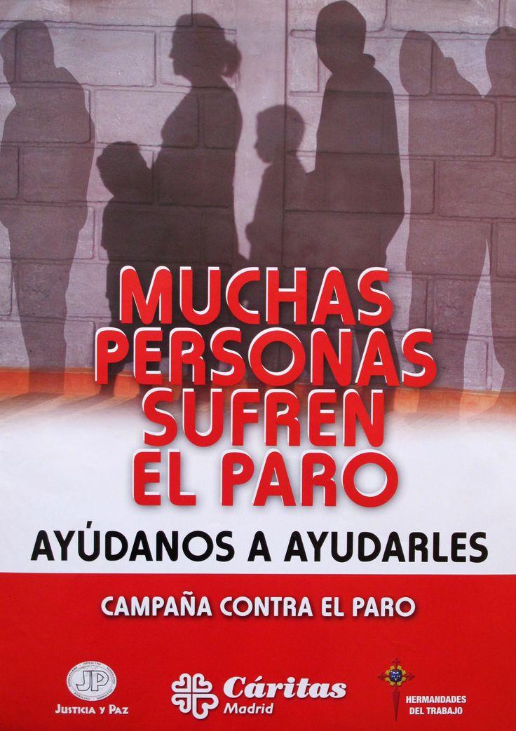 2009.-MUCHAS PERSONAS SUFREN EL PARO. Ayúdanos a ayudarles.