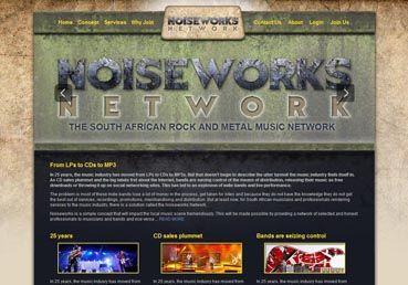 Noiseworks Music Network - webTorch Portfolio