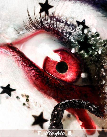 Scorpio eye by © Irene Zeleskou, zeleskou.com