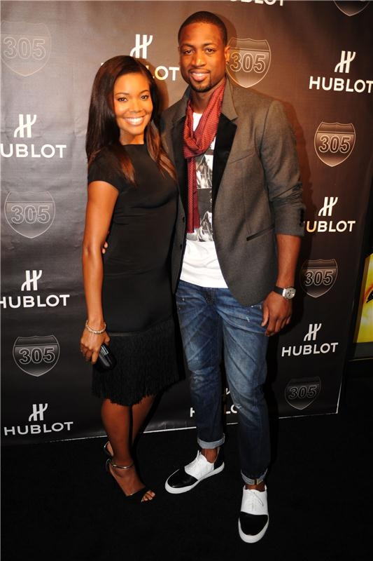 "Hublot's King Power ""305"" Timepiece Limited Edition Unveiling featuring Gabrielle Union and Dwyane Wade"