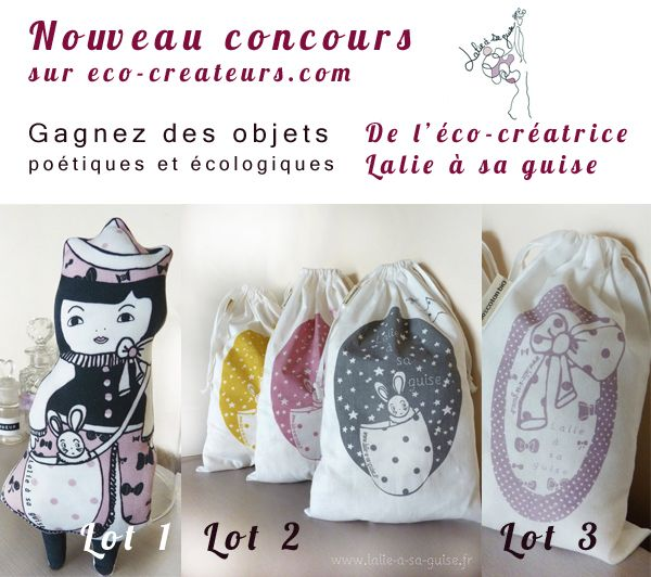 try to win some of my creations in participating in the contest held from 15 to 29 September 2012, on the blog éco créateurs   tentez de gagner plusieurs de mes créations en participant au concours organisé du 15 au 29 septembre 2012, sur le blog éco créateurs