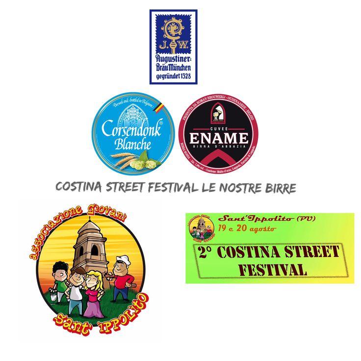 19 e 20 agosto - Sant'ippolito (PU) - ➡️Degustazione di costine in varie salse ideate dello chef Battisti!   BIRRE COSTINA STREET FESTIVAL 🍻🍺  ➡️ #Birre #Augustiner (chiara) #CorsendonkBlanche(weizen) #EnameCouveRouge (ambrata)   #MarcheTourism #EventiMarche #MetauroTurismo #SantIppolito #Pesaro #Urbino #Sagra #costina_street_festival