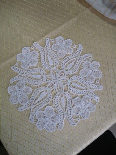 beautiful needle lace
