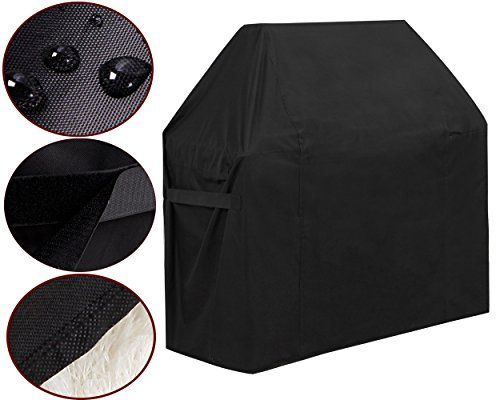 GoProver BBQ Gas Grill Cover, 44inch X 60inch 600D Heavy Duty BBQ Gas Grill Cover for Genesis E and S Series Gas Grills Outdoor Barbeque Grill Covers Waterproof & Weather Resistant #GoProver #Grill #Cover, #inch #Heavy #Duty #Cover #Genesis #Series #Grills #Outdoor #Barbeque #Covers #Waterproof #Weather #Resistant
