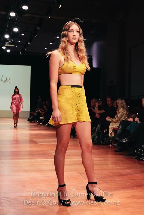 French Knicker set at Wellington Fashion Week 2014. Spring Summer 2014  www.lovehotel.co.nz