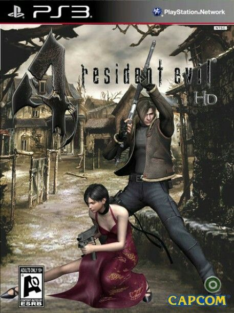 Resident Evil 4 HD..I think this and 5 are my fav R.Es