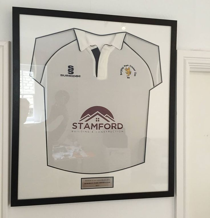 It is nice to finally get this Burghley Park Cricket Club shirt display up on our walls at our HQ office. We look forward to negotiating an additional sponsorship deal with Tottenham Hotspur next year!