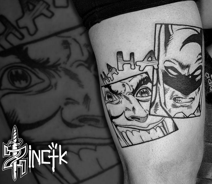 Martin Tattooer Zincik - Czech Tattoo artist , Joker Batman Tattoo design comics , Tetování Praha / Brno