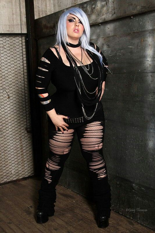 1000 Images About Plus Size Goth Girls Style Op Pinterest -4153