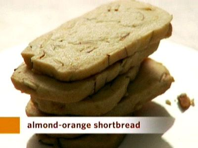 Almond-Orange Shortbread, Recipe from Everyday Food, July/August 2006