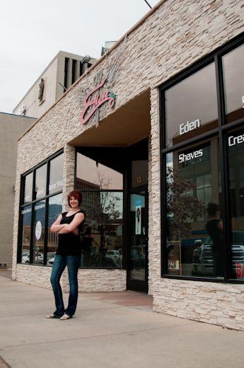 Colorado Springs Hairstylist Eden Salon Professional Portrait Eden Salon