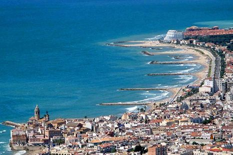 Castelldefels and Sitges, Barcelona, Spain