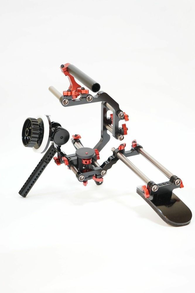 GiniRigs DSL1700 SHOULDER RIG for DSLR & VIDEO CAMERA #GINIRIGS