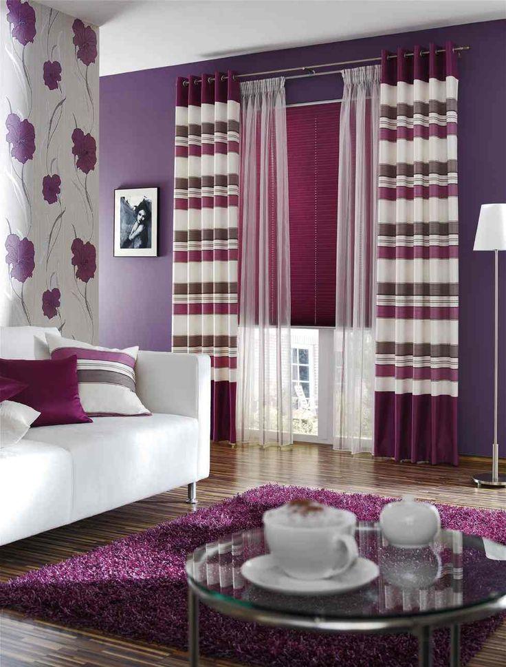 130 best Gardinen images on Pinterest Curtain ideas, Window - gardinen dekorationsvorschläge wohnzimmer