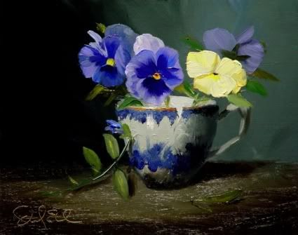 Teacup Pansies Photo:  This Photo was uploaded by limabeanlover. Find other Teacup Pansies pictures and photos or upload your own with Photobucket free i...