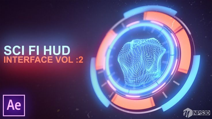 After Effects 2018||SCi FI HUD INTERFACE VOL:2 || ||YouTube||NPS3D