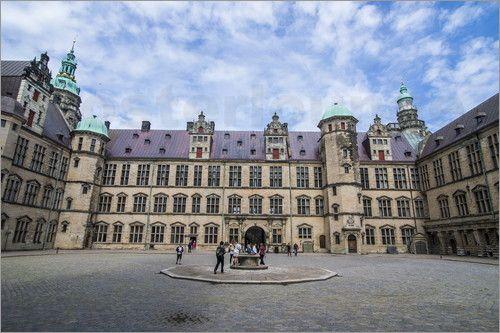 Michael Runkel - Innenhof im Renaissance Schloss Kronborg, Helsingor, Dänemark