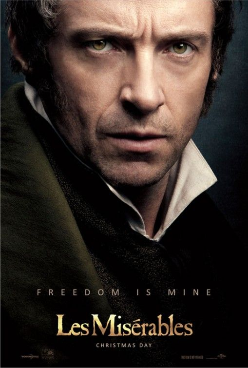 Les Miserables - Hugh Jackman is Jean Valjean. 12.25.12
