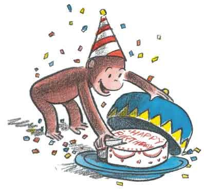 Curiosity George Birthday Party Planner - Curious George