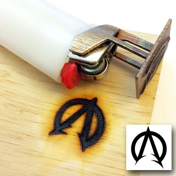 Custom Branding Iron - Bic Lighter branding iron - Any logo - Personalized brander - Be sure to read the instructions in the listing
