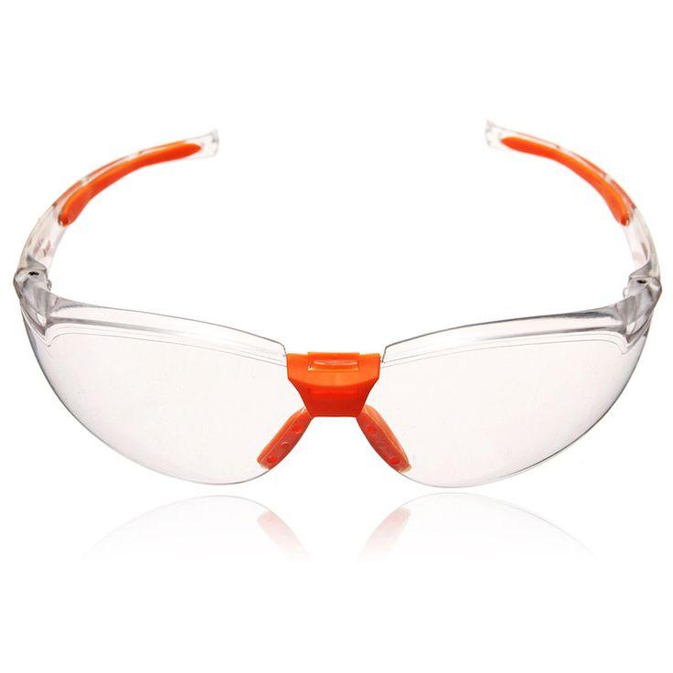Kualitas tinggi PC Eye Protector Keselamatan Tenaga Kerja Kacamata Pasir tahan Mencolok Tahan Tahan Debu Keamanan Hot Sale