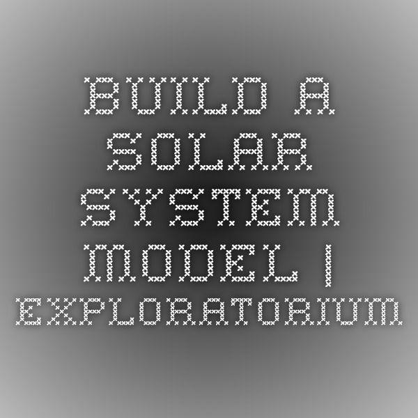 Best 25+ Build a solar system ideas on Pinterest | Solar ...