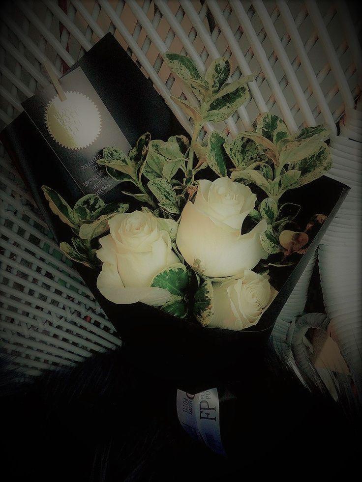 flowerpotts.co.nz Florist Hawera Bouquet Roses