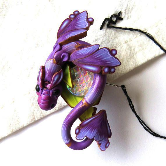 17 best images about clayworks on pinterest elf door for Purple fairy door