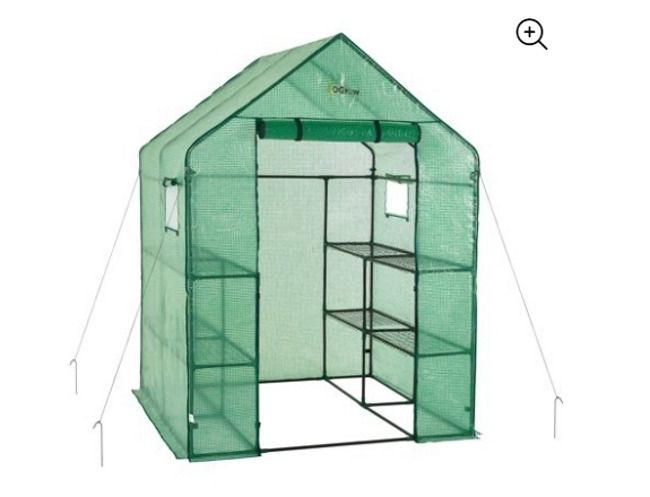Garden Greenhouse Shed Plant Light Shield 2 Tier Plants Organizers
