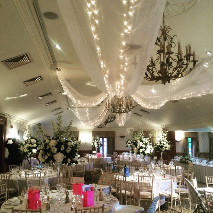 Elegant Wedding In The Balmoral Suite At Pennyhill Park